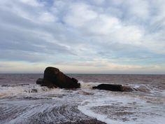 The sea, Spurn Point