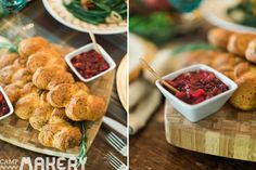 """Thanksgiving Tips, Tricks and Recipes from a Caterer   Camp Makery. You'll be all set for Thanksgiving with these amazing recipes for """"Easy 3 Step Cranberry Apple Chutney"""" and """"Oyster Dressing"""" from Nicole of Simply Catering, and tips and tricks from our stylist Ashley Pepitone, and all sorts of lovely goodness from our friends at Pottery Barn and La Crema Winery!"""