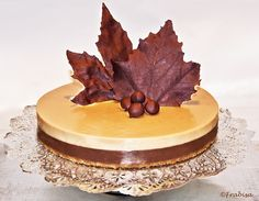 Frabisa cuisine: chocolate and nougat cake Brownie Recipes, Cake Recipes, Dessert Recipes, Nougat Cake, Haute Cakes, Recipe For 4, Recipe Recipe, Mousse, How To Make Cake