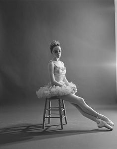 """Patricia McBride as the Sugar Plum Fairy, in a New York City Ballet production of """"The Nutcracker."""" IMAGE ID: SWOPE_1318676"""