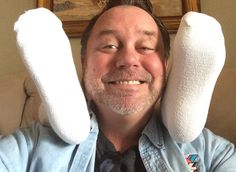 T.K. won these socks for $0.44 using one voucher bid! #OneBidWin