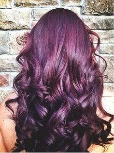 I have always wanted this color hair!