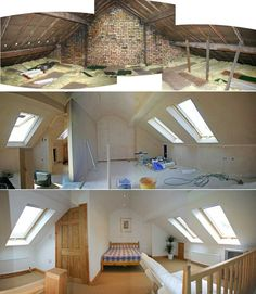 Image result for two.room.loft conversion stairs inmiddle