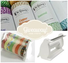 Washi Tape + Bakers Twine Giveaway! - Craftaholics Anonymous