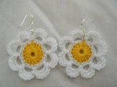 Resultado de imagen para aretes tejidos en crochet paso a paso