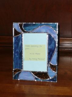 5x7 stained glass photo frame