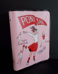 Vintage Rare PonyTail Binder set Blue & Pink Both versions issued Wow ! Vintage Stuff, Vintage Pink, Gemini Rising, Pisces Moon, Teen Fun, Farmer's Daughter, Vintage School, School Memories, Teenage Dream