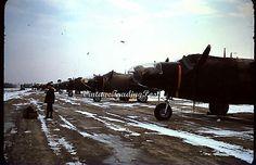 USAF Korean War 35mm Slide Kodachrome Red Douglas RB 26C Invader Bombers 0031   eBay