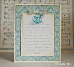 Card for christening