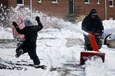 This is why I love snowblowers!!