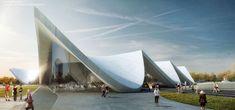 3. Preis: © Zaha Hadid Architects