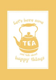 let's have some tea!