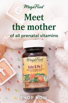 Meet the mother of all prenatal vitamins. Shop MegaFood now!
