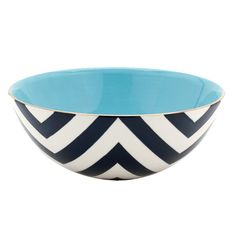 delray beach bowl in navy, jill rosenwald