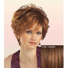 Elegant Side Bang Short Fashion Towheaded Curly Capless Real Human Hair Wig For Women (6/30#) in Capless Wigs | DressLily.com
