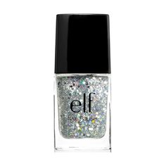 ELF glitter polish in Dream Maker. I really want this color! Gonna have to see if my Target has it in stock! $2.00 on website.    Coupon code for $5 off website purchases:   Your item was pinned on Pinterest  Thank you for sharing e.l.f. with your friends. Please use coupon code ELF5SA2X0 to receive $5 off at checkout.    Code cannot be combined with any other offer.