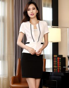 Business Skirt Suits for Women | 2013 Summer New Fashion Business Suit for woman Jacket and Skirts for ...