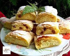 Sodrófás rétes, nem is gondoltam, hogy ez ilyen káprázatos Vegan Cake, Strudel, Winter Food, Food Inspiration, Nutella, French Toast, Sweets, Bread, Cookies