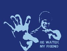 Bruce Lee Be Water My Friend stencil template Stencil Templates, Stencils, Water Me, Bruce Lee, Portrait, Drawings, Decor Ideas, Gift Ideas, Design Concepts