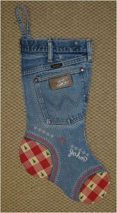 Artesanato com Jeans | Artesanato Que Faz