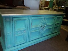 sILvEr aND tURquOiSE dREAm SERVer by theshabbyattic on Etsy, $455.00