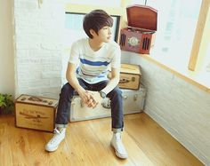 Oh Jung Gyu #ulzzang #ulzzangboy #boy #cute #ulzzangboys #korean #fashion :3