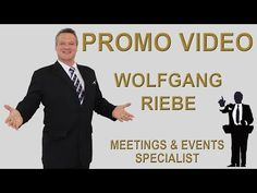 Promo Video 2017 Keynote Speaker & Illusionist Wolfgang Riebe