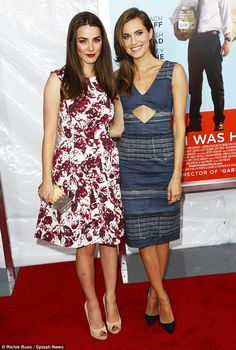 Fashionistas: Allison posed alongside Bee Shaffer, daughter of Vogue Editor In Chief Anna Wintour