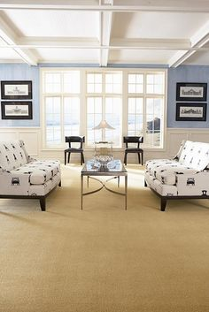 shown in color Living Room Themes, Living Room Color Schemes, Living Room Designs, Tan Walls, Dark Blue Walls, Superior Homes, Living Room Lighting, Minimalist Living, Room Colors