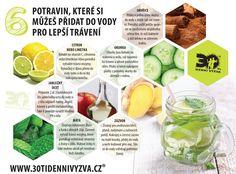 30ti denní výzva - Lepší trávení Detox, Smoothies, Health Fitness, Healthy Recipes, Fruit, Food, Smoothie, Essen, Healthy Eating Recipes