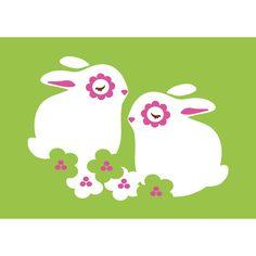 PaaPii Design - Postikortti Kukkapuput, vihreä