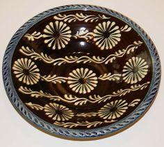 Black Flower Bowl - Paul Young
