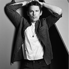 from C for Men Ethan Hawke Vanity Fair, New York Times, Gq, Ethan Hawke, Dead Poets Society, First Crush, Glamour, Actor Model, Face Claims