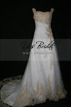 (CLICK IMAGE TWICE FOR DETAILS AND PRICING) A-line Off-shoulder Chapel Train Satin Lace Wedding Dress WAL0079 - See More Off-shoulder Womens Dresses at http://www.zbrands.com/Off-shoulder-Womens-Dresses-C55.aspx