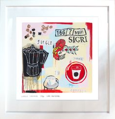 Print: coffee in the morning