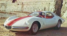 1965 Alfa Romeo Giulia 1600 TZ2 Coupe Concept by Pininfarina