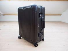 Rimowa Topas Stealth CABIN MULTIWHEEL Carry-On 45 L Aluminium NEW  92456014 #Rimowa