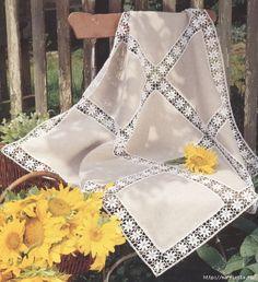 модное вязание крючком для дома. схемы (6) (594x651, 307Kb)