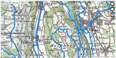 Belp BE Velowege Fahrrad velotour #mobil #routenplaner http://ift.tt/2sOhFgp #karten #mapOfSwitzerland