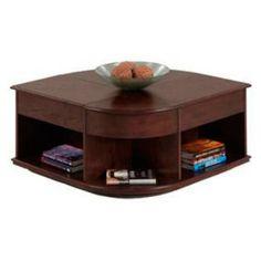Progressive Furniture P543 25 Sebring Contemporary Castered Double Lift Top  Cocktail Table In Medium Ash
