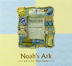 "Lillian Rose Noah's Ark Resin Photo Frame, 2.5"" x 3.5"" ** Details can be found by clicking on the image."