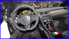 Lamborghini Veneno Interior Drivers View Wallpaper
