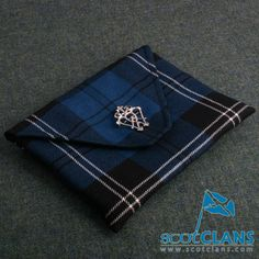 Clan Ramsay Tartan Clutch Bag
