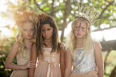 """The Look: Neverland - """"Off to Neverland"""" by Amber Bauerle for Child Model Magazine"""