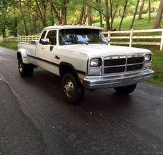 1993 Dodge Ram 3500 W-350 mins Turbo Diesel 4x4 for Sale in ...