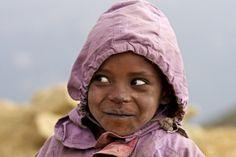 De scheele kijk - foto gemaakt in Ethiopië