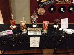 80's dance party candy buffet. Party Candy, Candy Buffet, Buffets, Dance, Sweet, Dancing, Candy, Buffet, Candy Stations