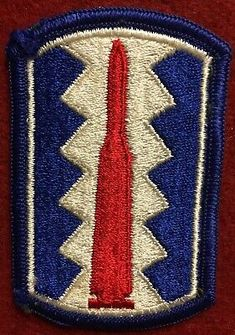 US Army 4th Medical Brigade Full Color Merrowed Edge Patch