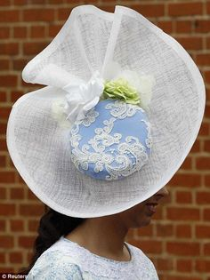 Royal Ascot What do you think of this hat  Reminds me of Wedgewood Royal  Ascot eab434b93560