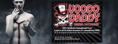 """Voodoo Daddy The """"Wicked Herbal Incense"""". The original cannabinoid-chemical free and 100% organic, all natural wicked herbal potpourri smoke blend"""